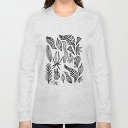 Plant Girl Long Sleeve T-shirt
