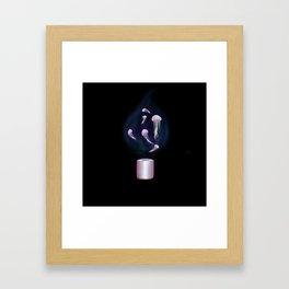 Jellyflame Framed Art Print