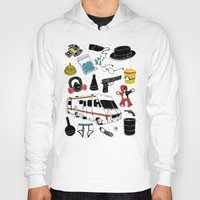 breaking Hoodies featuring Artifacts: Breaking Bad by Josh Ln
