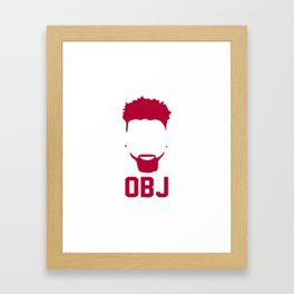 Odell Bechkham Jr. Framed Art Print