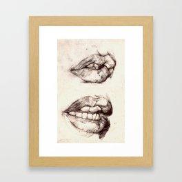 GNAW Framed Art Print