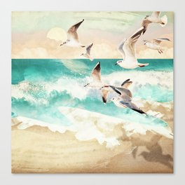 Summer Flight Canvas Print