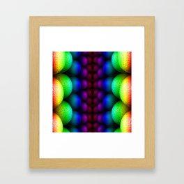 Bilateral Rainbow Framed Art Print