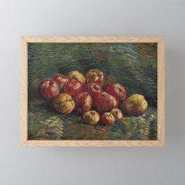 Apples - Vincent van Gogh Framed Mini Art Print