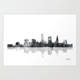 Cleveland, Ohio Skyline Art Print