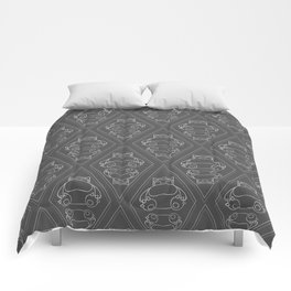 Snorlax Pattern Comforters