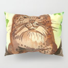 Lynx in the Forest Pillow Sham