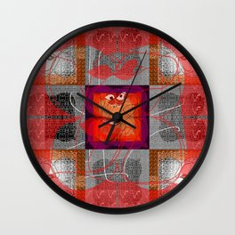 A Fruitful Mornin' Wall Clock