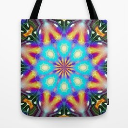 Insectasoids and Friends on the Inter-dimensional Council Tote Bag