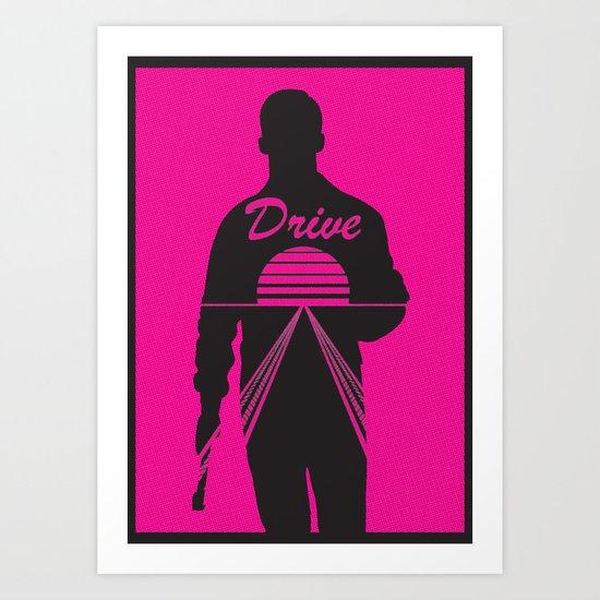 I Drive  Art Print