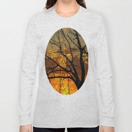 Sunset Tree, California Long Sleeve T-shirt