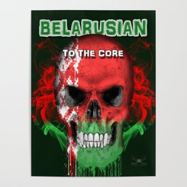 To The Core Collection: Belarus Poster