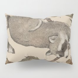 The Raccoon and Sycamore Pillow Sham