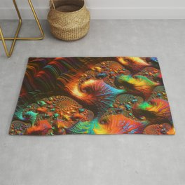 Fractal Art: Fabled Paths Rug