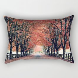 Welcome Home to Fall Rectangular Pillow