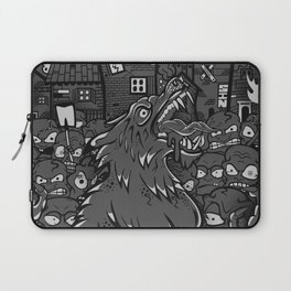 WOLVES OF PERIGORD Laptop Sleeve
