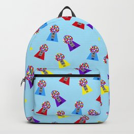 Gumball Machines,small blue Backpack