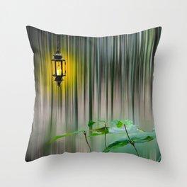 Motion Blur Throw Pillow