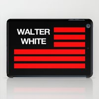 walter white iPad Cases featuring Walter White by Spyck
