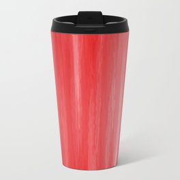 Red- ombre watercolor pattern! Travel Mug