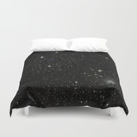 universe Duvet Covers featuring Universe  by Jaylin F.