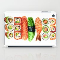 sushi iPad Cases featuring Sushi by Sam Luotonen