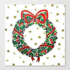 Christmas Wreath II Canvas Print