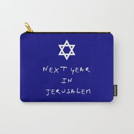 Next year in Jerusalem 7 Carry-All Pouch