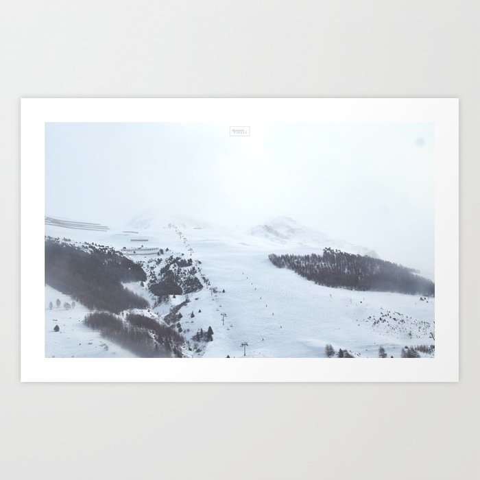 After the snow comes the sun Art Print