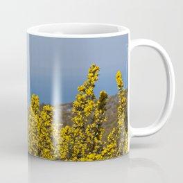Landscape on mountain with blue sky Coffee Mug