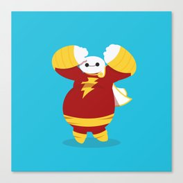 CaptainMarvel x Baymax (Captainmax) Canvas Print