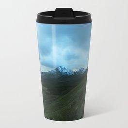 Snowy Welsh Mountains 5 Travel Mug