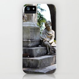 The Sightless Woman iPhone Case