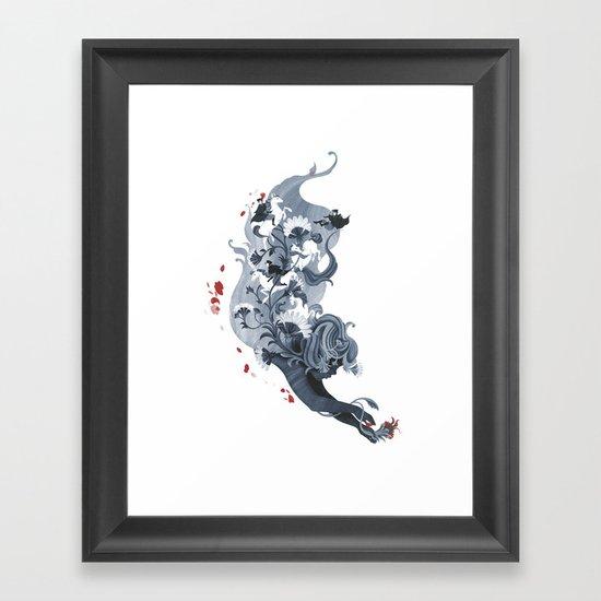 Luckless Framed Art Print