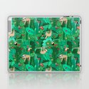 Sloths in the Emerald Jungle Pattern by sandrahutter