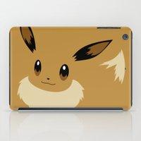 eevee iPad Cases featuring Eevee PKMN by Rebekhaart