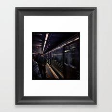 Subway Series No.5 Framed Art Print