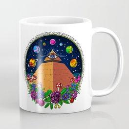 Psychedelic Magic Mushrooms All Seeing Eye Coffee Mug