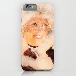 Mrs. Claus iPhone Case