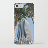 ashton irwin iPhone & iPod Cases featuring Robert Irwin Primal Palm Garden by The Horticult