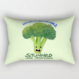 Stunned Like Vegetable Rectangular Pillow