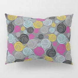 Yarn Yarn Yarn Yarn Yarn Pillow Sham
