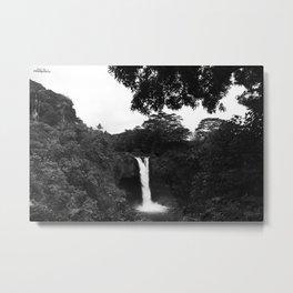 Hawaiian Falls Metal Print
