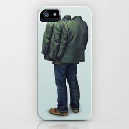 Surrounded iPhone Case