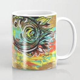 Orange green Coffee Mug