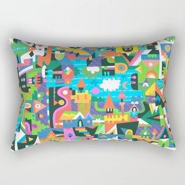 Neighbourhood 2 Rectangular Pillow