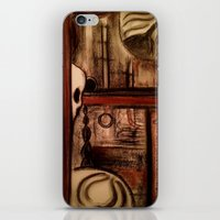 moby dick iPhone & iPod Skins featuring Moby Dick by Leon T. Arrieta