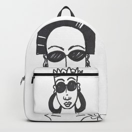 Two heads are better than none. Backpack