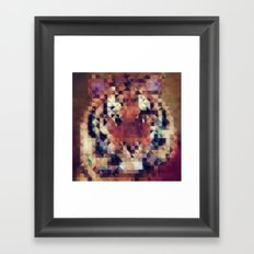 Tigris Framed Art Print