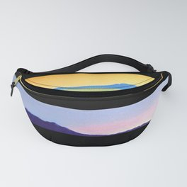 NEW ZEALAND PAUA LANDSCAPES Fanny Pack